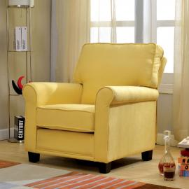 Belem AC6056YW Rolled Arm Accent Chair