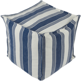 Anchor Bay by Surya ACPF-004 Pouf
