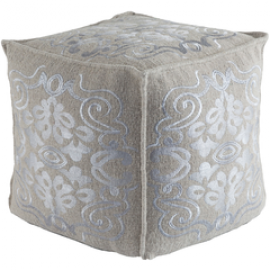 Adeline by Surya ADPF-1000 Pouf