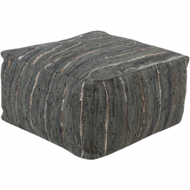 Anthracite by Surya ATPF-003 Pouf