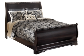 Esmarelda Sleigh Collection B179 King Bed Frame