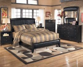 Harmony Collection B208 Padded Headboard Bedroom Set