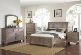 Allegra B2159 Pewter Storage Bedroom Set
