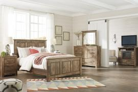 Ashley - Blaneville B224 - Panel Bedroom Set (w/ Storage Option)