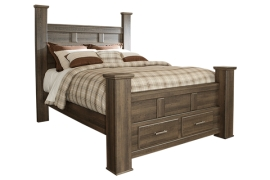 Juararo Storage Collection B251 King Bed Frame