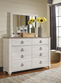Ashley - Willowton B267 - Dresser & Mirror
