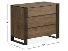 Granada Hills B4592-07 Collection by Magnussen Bachelor Chest