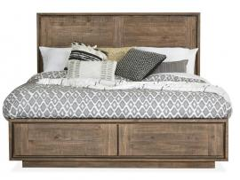 Granada Hills B4592-74 Collection by Magnussen California King Panel Bed