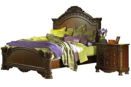 North Shore Collection B553 King Bed Frame