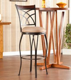 BC1110 Ashbourne by Southern Swivel Bar Stool 30""