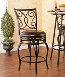 BC1175 Hanover by Southern Enterprises Swivel Counter Stool
