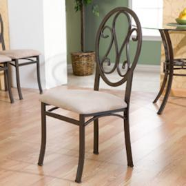 BC1491 Lucianna By Southern Enterprises Chairs 4pc Set - Dark Brown