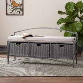 BC4871 Javu By Southern Enterprises Storage Bench
