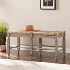 BC5875 Karvina By Southern Enterprises Seagrass Bench/Cocktail Table