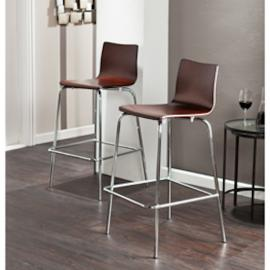 BC8415 Holly & Martin Blence By Southern Enterprises 2pc Barstool Set - Espresso