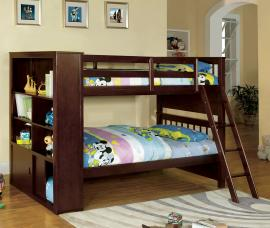 Dakota Ridge Collection BK147 Twin/Twin Bookcase Bunk Bed