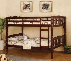 Catalina Collection BK606CH Cherry Twin/Twin Bunk Bed