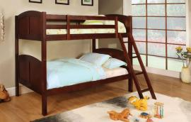 Rexford Collection BK903CH Cherry Twin/Twin Bunk Bed