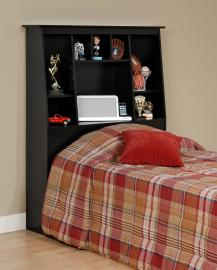 Black Tall Twin Headboard BSH4556