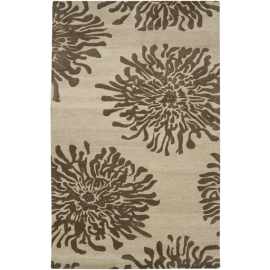 Bombay Rug BST493 Floral 5' x 8'