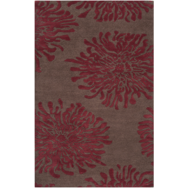 Bombay Rug BST539 Floral 5' x 8'