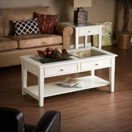 CK1130 Panorama By Southern Enterprises Cocktail Table - Off-White