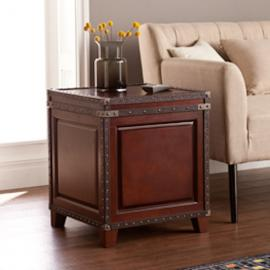 CK5482 Amherst By Southern Enterprises Trunk End Table