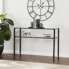 CK8773 Southern Enterprises Metal Sofa Table - Black