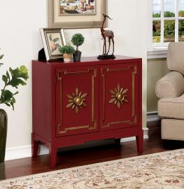 Nayeli CM AC304RD Red Accent Cabinet
