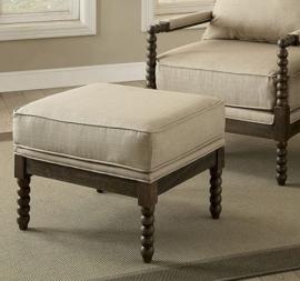 Tarragona by Furniture of America CM-AC6165OT Accent Ottoman