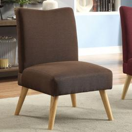 Murcia by Furniture of America CM-AC6188BR Accent Chair