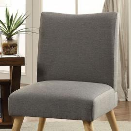 Murcia by Furniture of America CM-AC6188GY Accent Chair