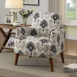 Bray by Furniture of America CM-AC6189FP Accent Chair