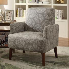 Bray by Furniture of America CM-AC6189GY Accent Chair