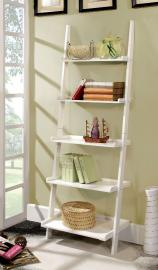 Sion Collection CM-AC6213WH White Bookcase
