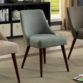 Pollard by Furniture of America CM-AC6330BL Accent Chair