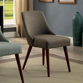 Pollard by Furniture of America CM-AC6330GY Accent Chair