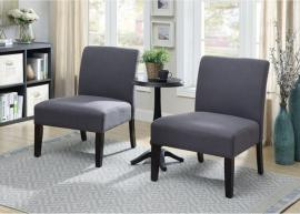 Subury by Furniture of America CM-AC6332-3PK Accent Chairs & Accent Table 3PC Set