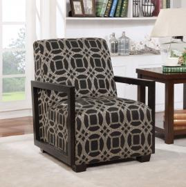 Fermoy by Furniture of America CM-AC6383PA Accent Chair