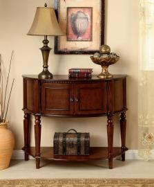 Roxbury Collection AC6714 Traditional Cherry Console Table