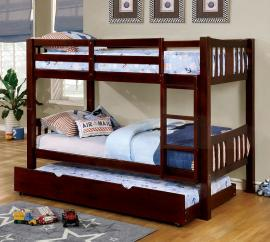 Cameron Collection CM-BK929EX-TR Twin/Twin Bunk Bed with Trundle