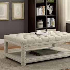Einar by Furniture of America CM-BN6058BG-L Accent Bench