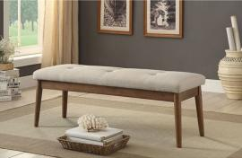 Linnen by Furniture of America CM-BN6060BG Accent Bench