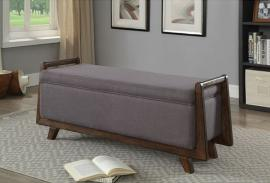 Finn by Furniture of America CM-BN6069GY Accent Bench