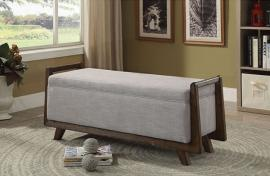 Finn by Furniture of America CM-BN6069LG Accent Bench