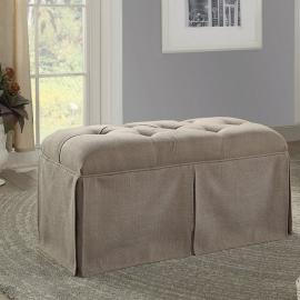 Kilrush by Furniture of America CM-BN6176BR Ottoman