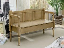 Carrickmacross by Furniture of America CM-BN6358NT Accent Bench
