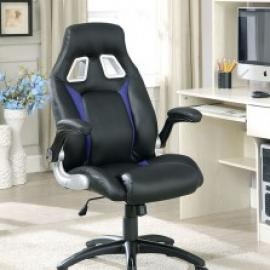 Argon by Furniture of America CM-FC612BL Office Chair