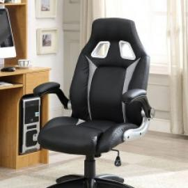 Argon by Furniture of America CM-FC612GY Office Chair