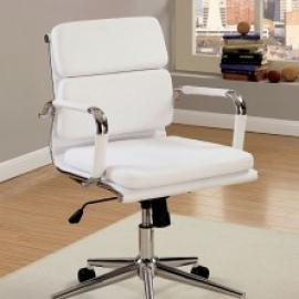 Mercedes by Furniture of America CM-FC636S-WH Office Chair